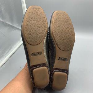 Coach Shoes - Coach Jillian metallic loafers